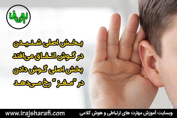 تفاوت گوش دادن فعال و موثر با شنیدن