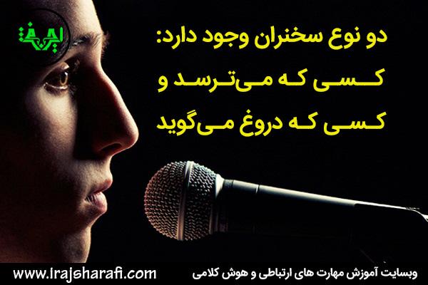fear of speech